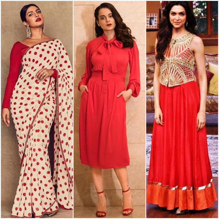 Navratri 2019: Kangana Ranaut, Priyanka Chopra, Deepika Padukone & more celebrity approved ways to wear red