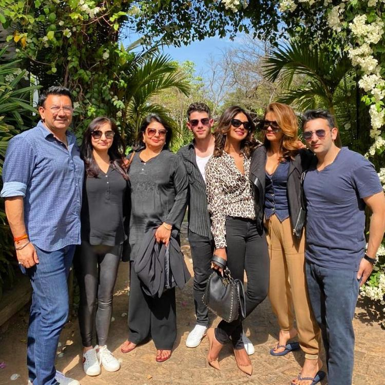 Priyanka Chopra Jonas and Nick Jonas look gorgeous together as they spend the weekend with family and friends
