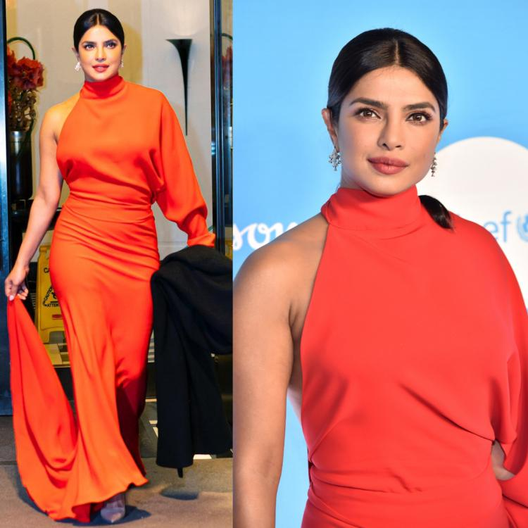 Priyanka Chopra Jonas makes a strong case for cocktail dressing in a romantic red gown: Yay or Nay?