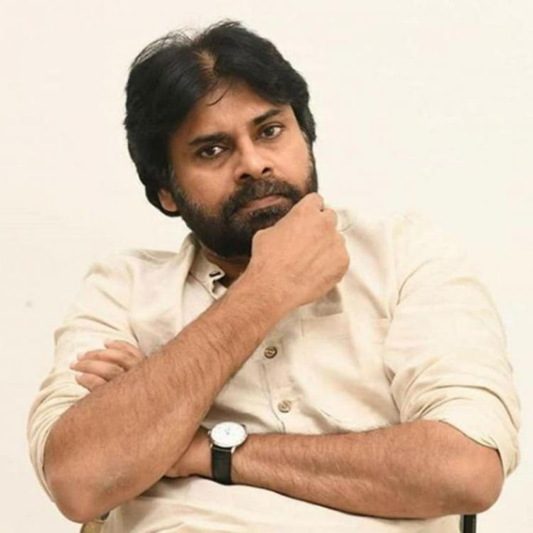 Pink Remake LEAKED PIC: Pawan Kalyan spotted on the sets as he begins shooting for the film