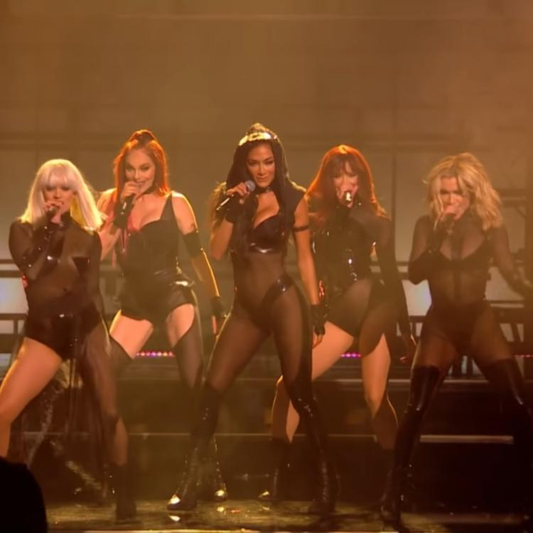 The Pussycat Dolls reunite for a SIZZLING performance on X Factor and tease their new song React; Watch VIDEO