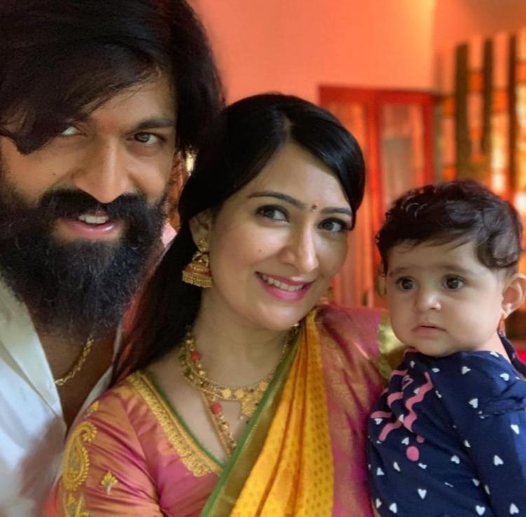 KGF star Yash and Radhika Pandit's baby Ayra's latest cute pictures will drive away your Monday blues