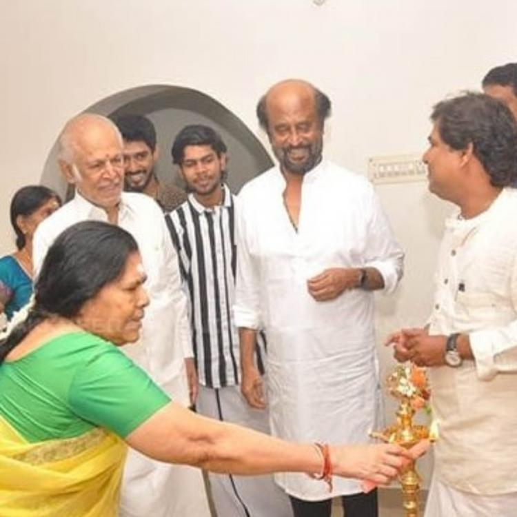 Rajinikanth gifts a house worth Rs 1 crore to the producer of his first film Bairavi; Details inside