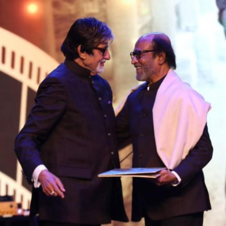 Rajinikanth opens up on his friendship with Amitabh Bachchan; Says, 'I look up to how he is off camera also'