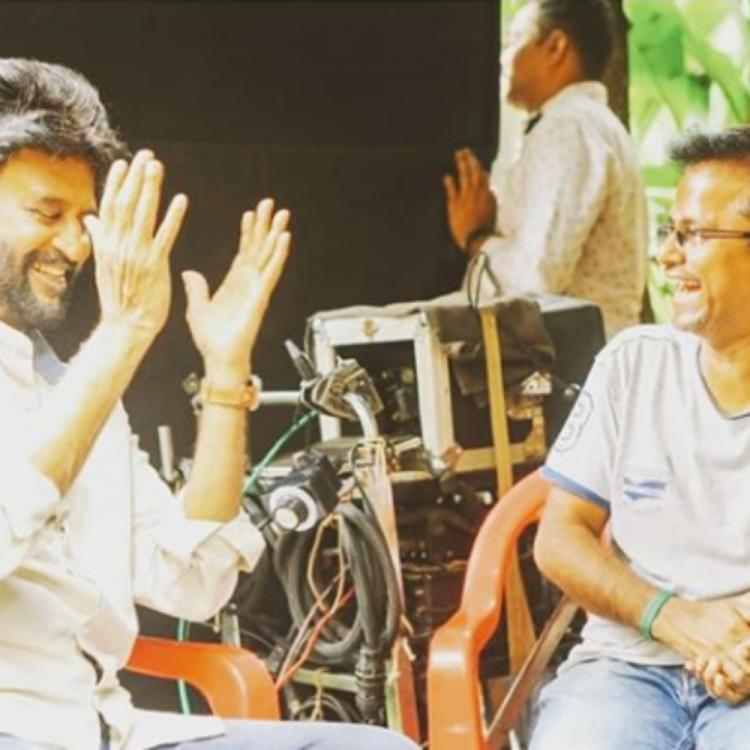 Rajinikanth's candid chat with Darbar director AR Murugadoss in this BTS PHOTO is a treat to the eyes