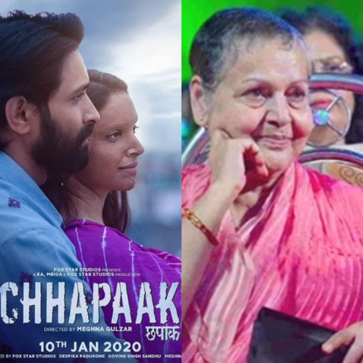 Chhapaak director Meghna Gulzar's mother Rakhee cites the reason behind not watching the film's premiere