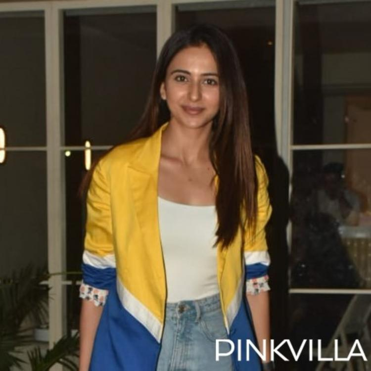 Rakul Preet Singh aces her casual look as she steps out in the city'; View Pics