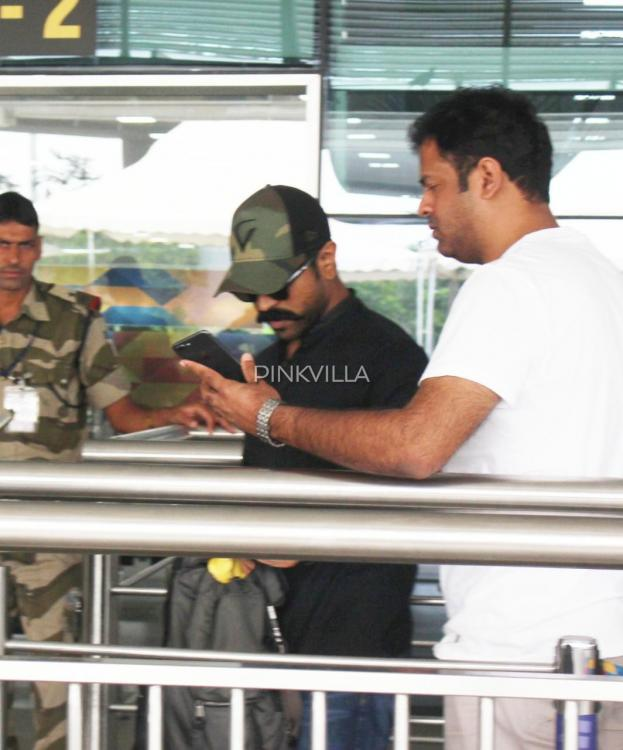 Airport Diaries: After the success of Sye Raa, Ram Charan heads to London for a vacation