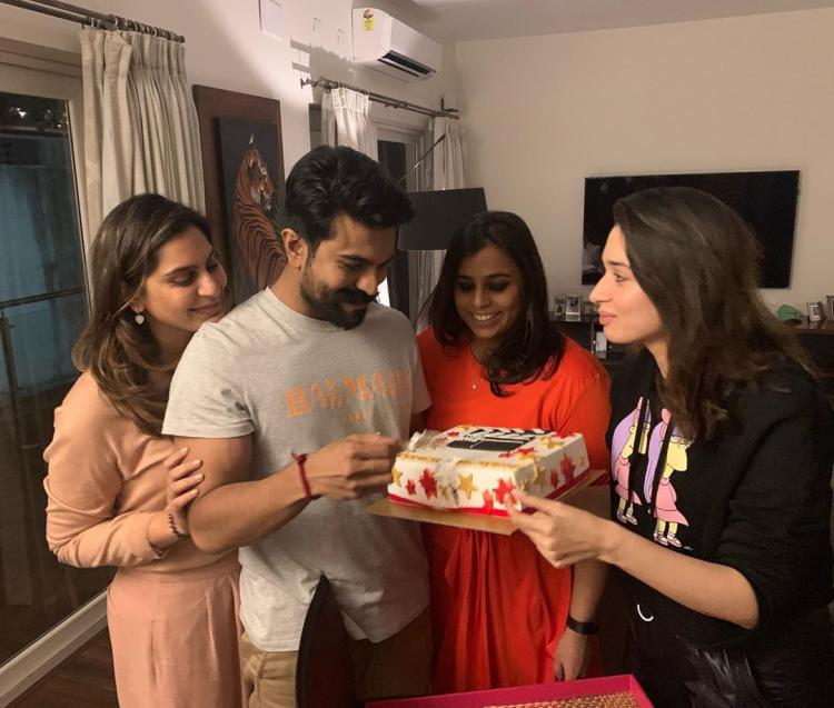 Ram Charan makes a comeback on Twitter: Tamannaah Bhatia, Rakul Preet Singh and others welcome him