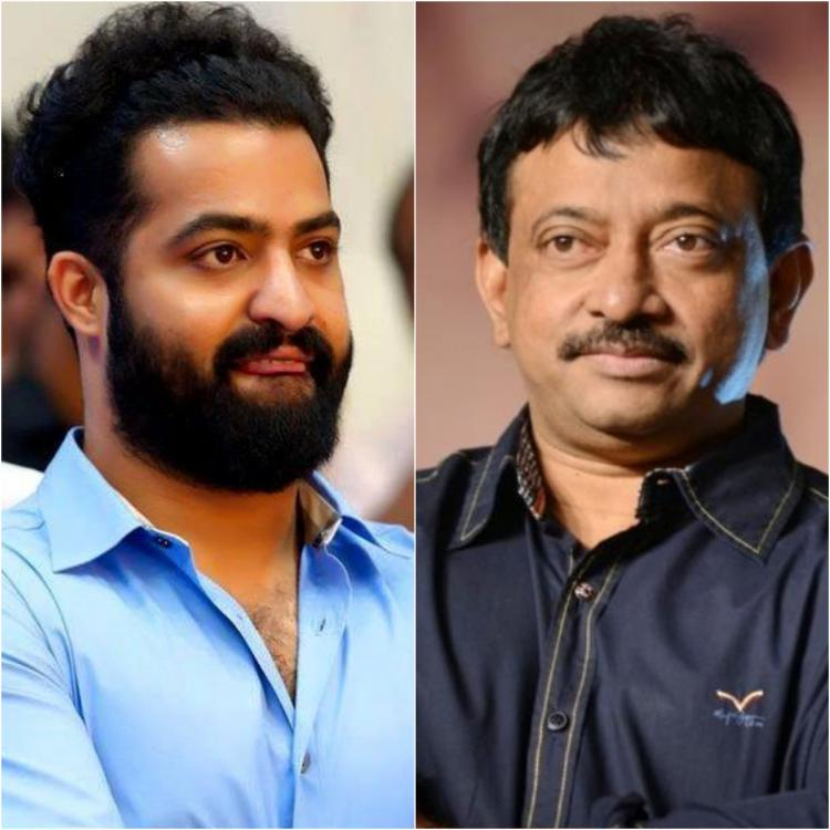 Ram Gopal Varma shares Jr NTR's shirtless pic on his birthday; Says I'm not gay but almost want to become one