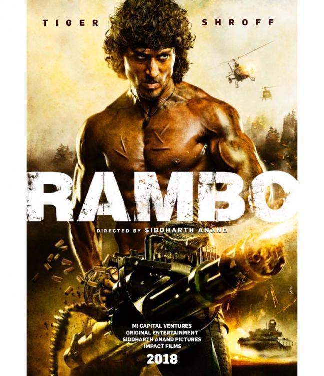 News,Tiger Shroff,Sidharth Anand,Rambo Remake