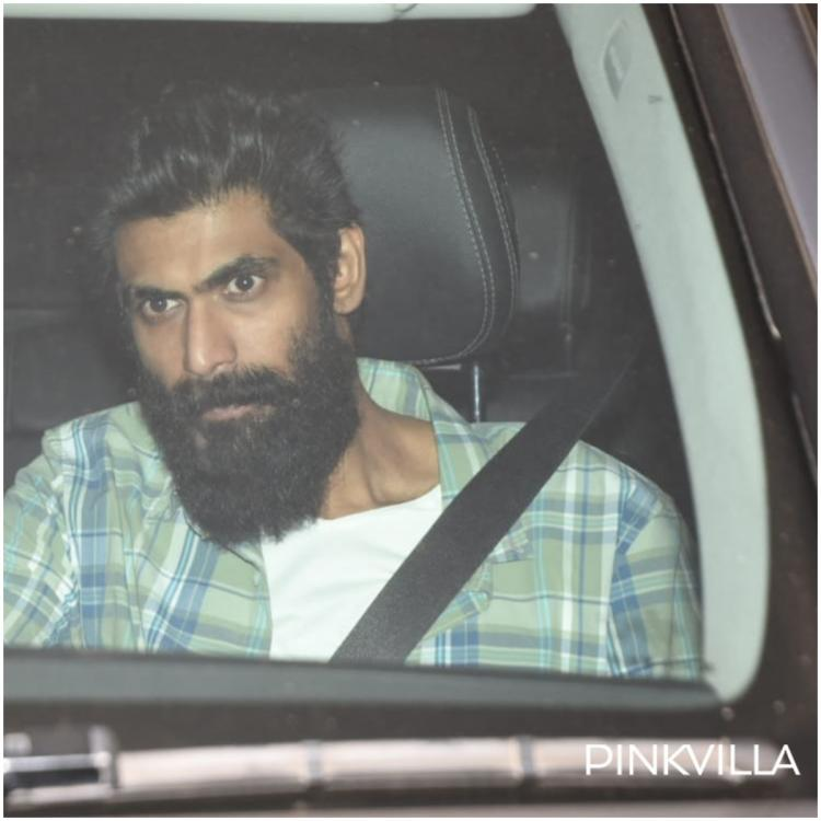 PHOTOS: Rana Daggubati spotted at Karan Johar's residence; is a film on the cards?