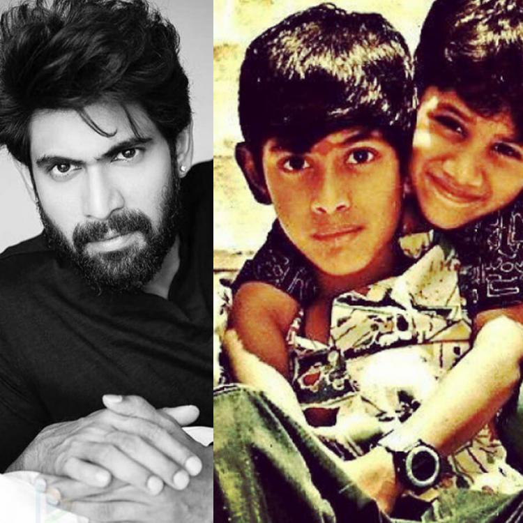 5 Times Rana Daggubati treated fans with his childhood photos and made us melt with his cuteness