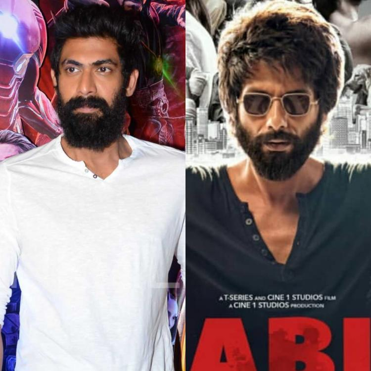 Rana Daggubati makes a huge revelation about Shahid Kapoor starrer Kabir Singh's paid previews