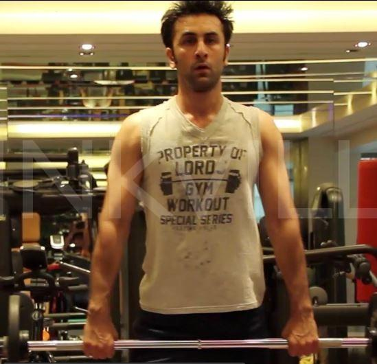 Image result for ranbir kapoor workout