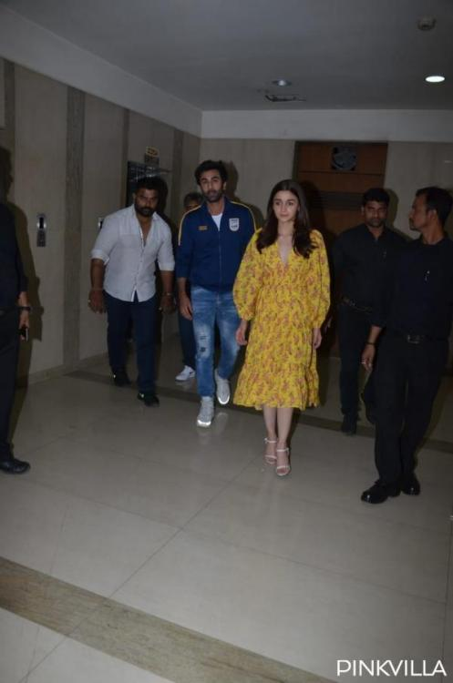 Is Ranbir Kapoor MIFFED with Alia Bhatt over something? Watch the video
