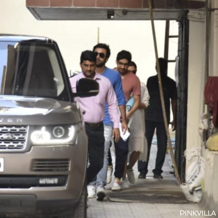 PHOTOS: Alia Bhatt, beau Ranbir Kapoor and Brahmastra director Ayan Mukerji get papped in Mumbai