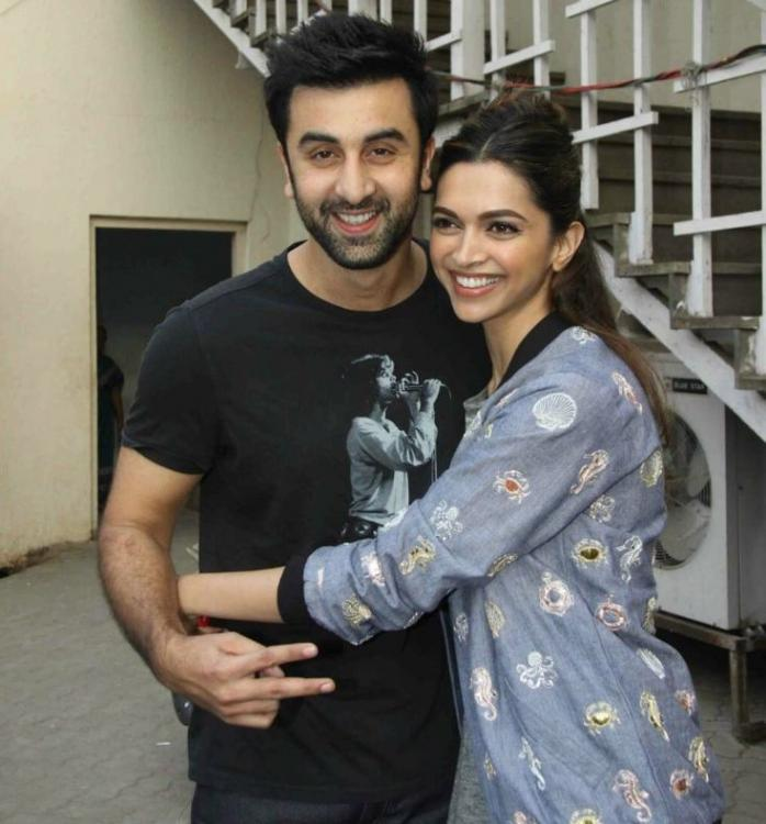 Ranbir Kapoor and Deepika Padukone get goofy in this BTS boomerang and we are dying to see them onscreen again