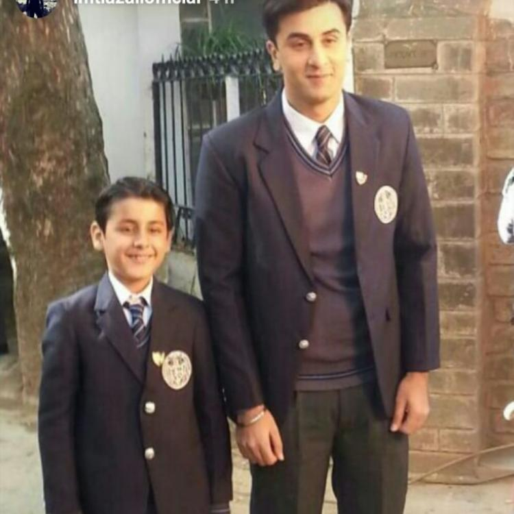 Ranbir Kapoor looks adorable AF in an UNSEEN BTS photo from Tamasha; Check it out
