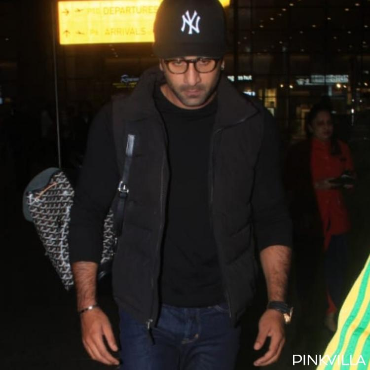 PHOTOS: Ranbir Kapoor opts for a comfy and cool look as he returns from Delhi