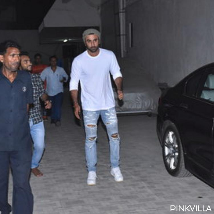 PHOTOS: Ranbir Kapoor knows how to keep it cool during summer as he steps out for work