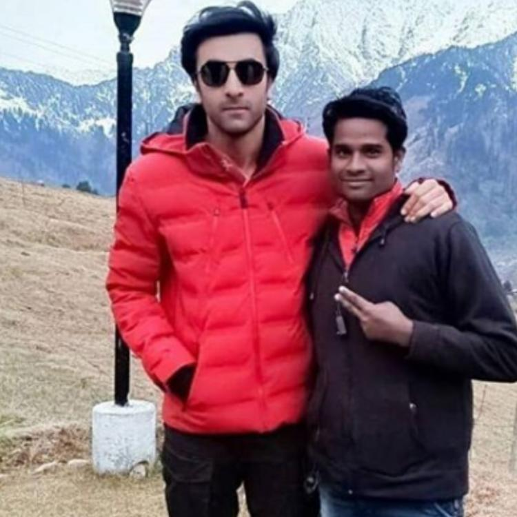 Ranbir Kapoor gets rid of his arm sling as he shoots with Alia Bhatt for Brahmastra in Manali; View PIC