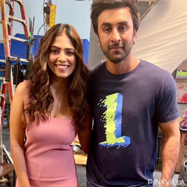 PHOTOS: Ranbir Kapoor and Malavika Mohanan are all smiles as they arrive for a shoot