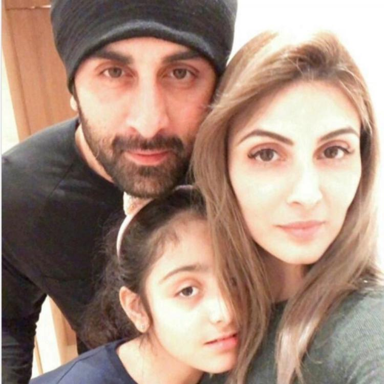 Neetu Kapoor shares a PHOTO of Ranbir Kapoor, Riddhima & granddaughter Samara; calls them her 'Valentines'