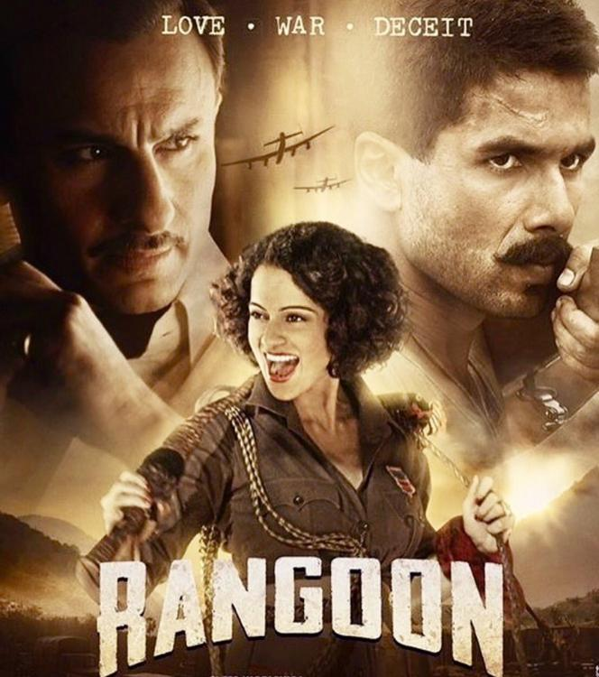 Music,Kangana Ranaut,Shahid Kapoor,saif ali khan,Vishal Bhardwaj,sunidhi chauhan,Arijit Singh,Rangoon release,Rangoon Music Review,Rangoon Music,Rangoon songs,Rangoon release date,Rangoon Jukebox