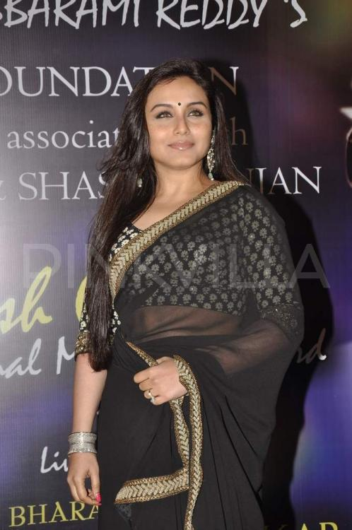 Rani Mukerji get talking about the importance of scripts in her career