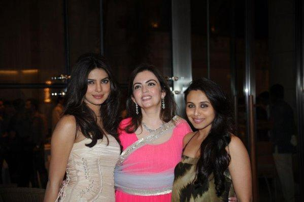 Photos,Priyanka Chopra,rani mukherji,ambani's party