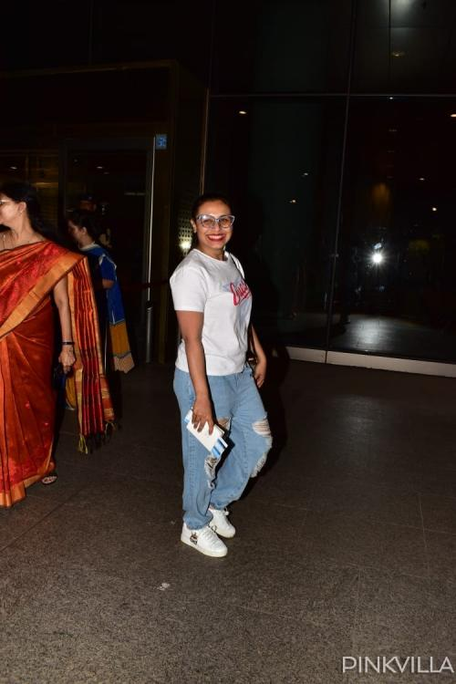 Rani Mukerji's latest airport look is a big Nay; see pics