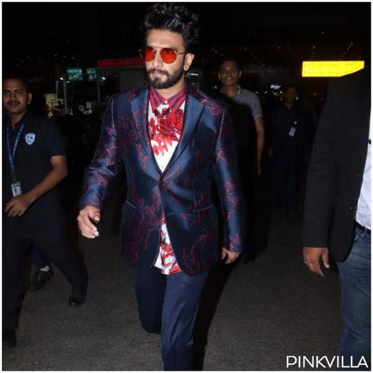 Photos: Ranveer Singh is entering the weekend in style as he returns to Mumbai