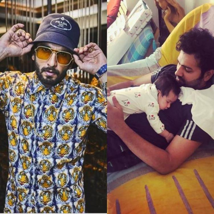 Rohit Sharma sings Asli Hip Hop for his daughter; Ranveer Singh impressed with the cricketer's rapping skills