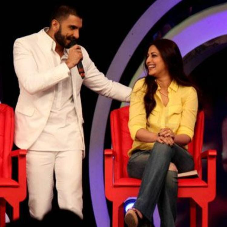 Sonali Bendre has a funny story of how Ranveer Singh's songs saved the day for her when she turned bald