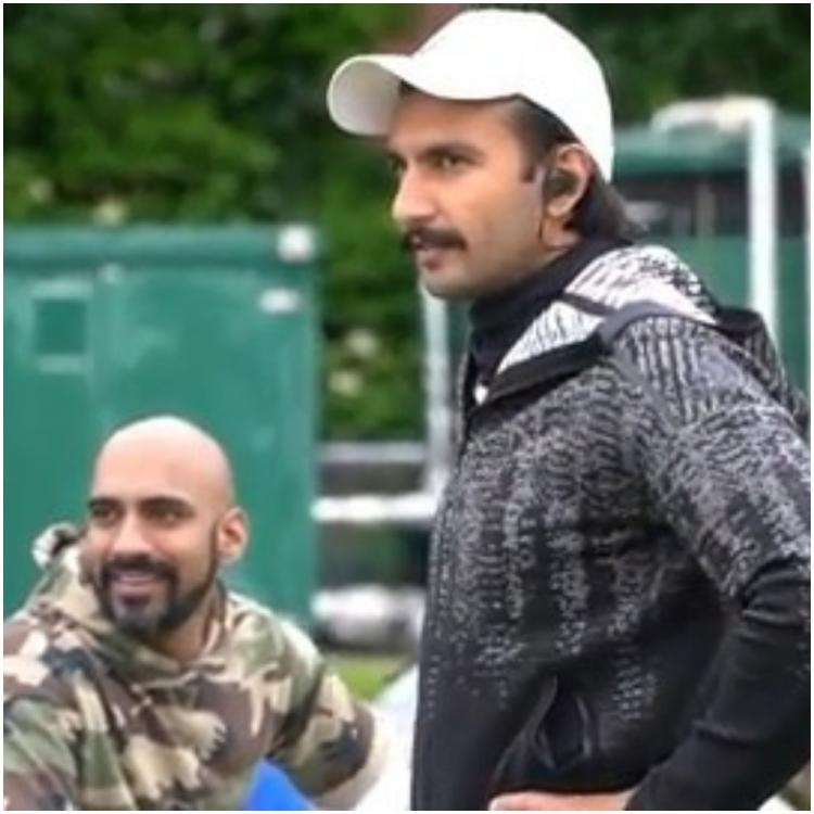 Ranveer Singh turns into a cheerleader for Chirag Patil & other '83 actors during net practise; Watch