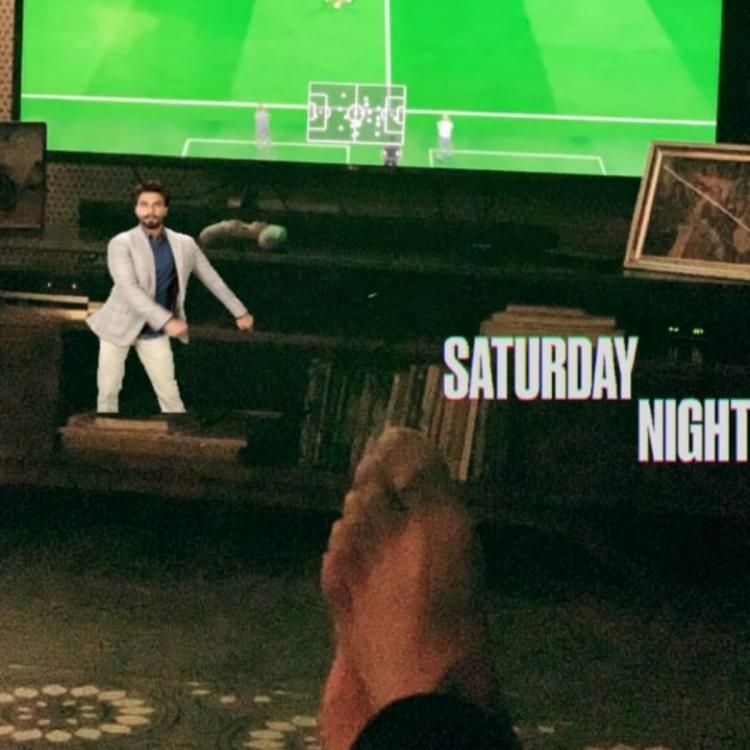Ranveer Singh shared a sneak peek of his Saturday night plans and we wish we were invited