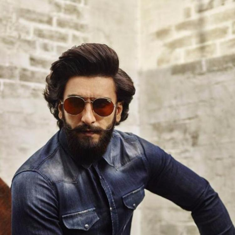 Ranveer Singh is literally painting the town red with his sparkling red Lamborghini
