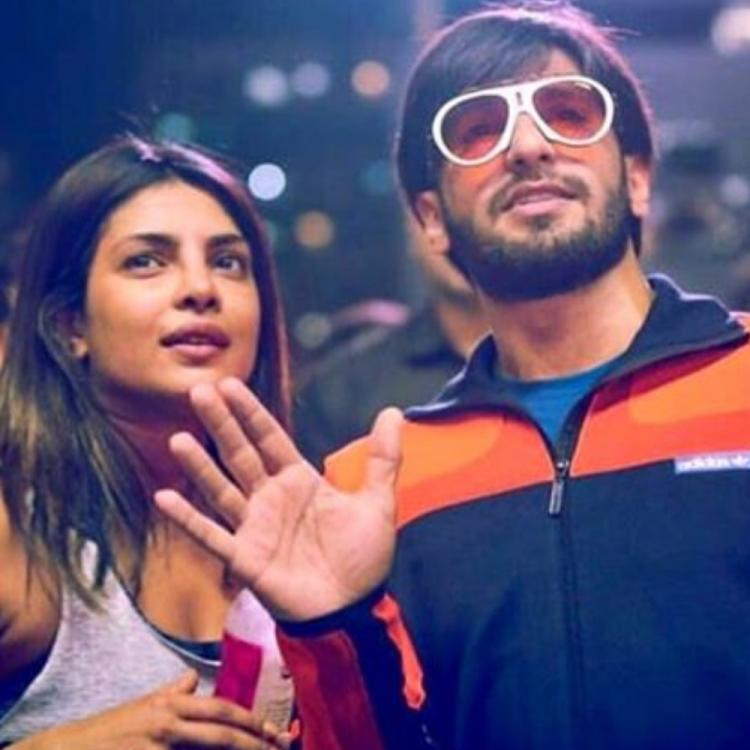 Flashback Friday: Priyanka Chopra & Ranveer Singh's candid pic makes us wonder what they were up to back then