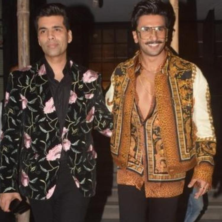 Ranveer Singh wants to play Karan Johar in 'An Unsuitable Boy' and we want to see it happen