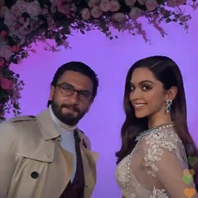 Ranveer Singh shares wifey Deepika Padukone's wax statue picture and captions it in the most CUTE way possible