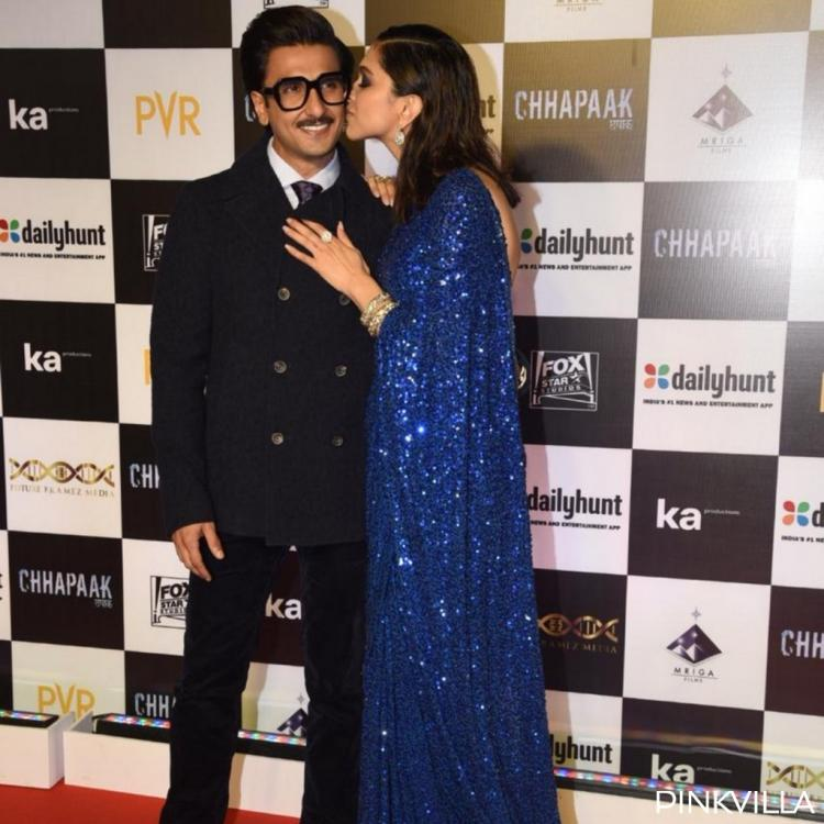 PHOTOS: Deepika Padukone and Ranveer Singh's PDA at the Chhapaak premiere will make you go aww