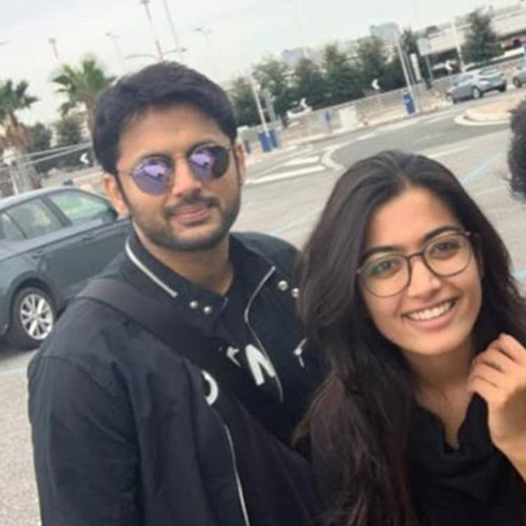 PHOTO: Rashmika Mandanna is enjoying the 'perfect weather' in Rome with Bheeshma co star Nithiin; Check it out