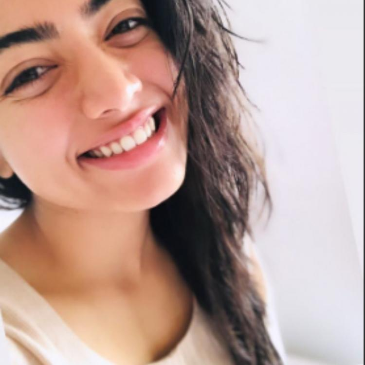 Rashmika Mandanna THREATENS director Venky Kudumula over sharing BTS pics with Nithiin and its hilarious