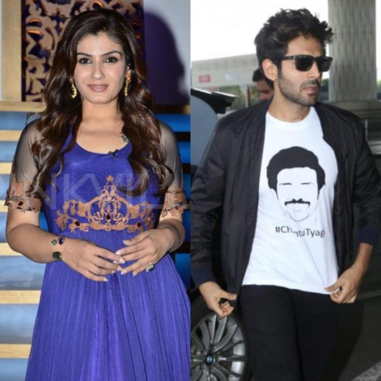Raveena Tandon REACTS to Akhiyon Se Goli Mare's remix version in Kartik, Bhumi, Ananya's Pati Patni Aur Woh