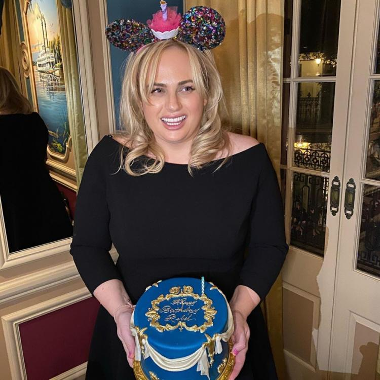 Rebel Wilson shares a throwback picture of her birthday celebration before her self quarantine period