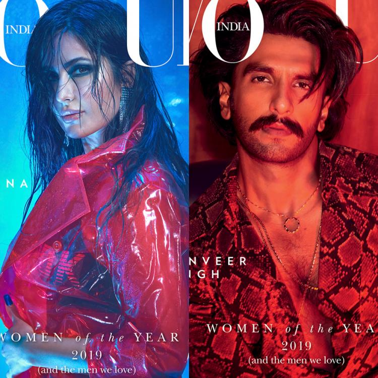 Alia Bhatt, Katrina Kaif, Anushka Sharma & Ranveer Singh set the town ablaze as they pose for a magazine cover