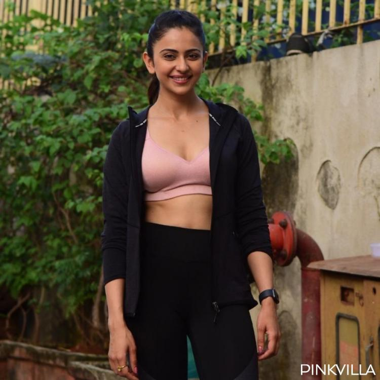 PHOTOS: Rakul Preet Singh looks pumped up as she sweats it out at the gym