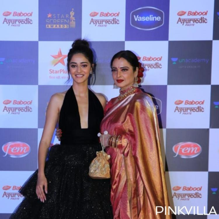 PHOTOS: Ananya Panday and Rekha are a sight to behold as they pose together at an event