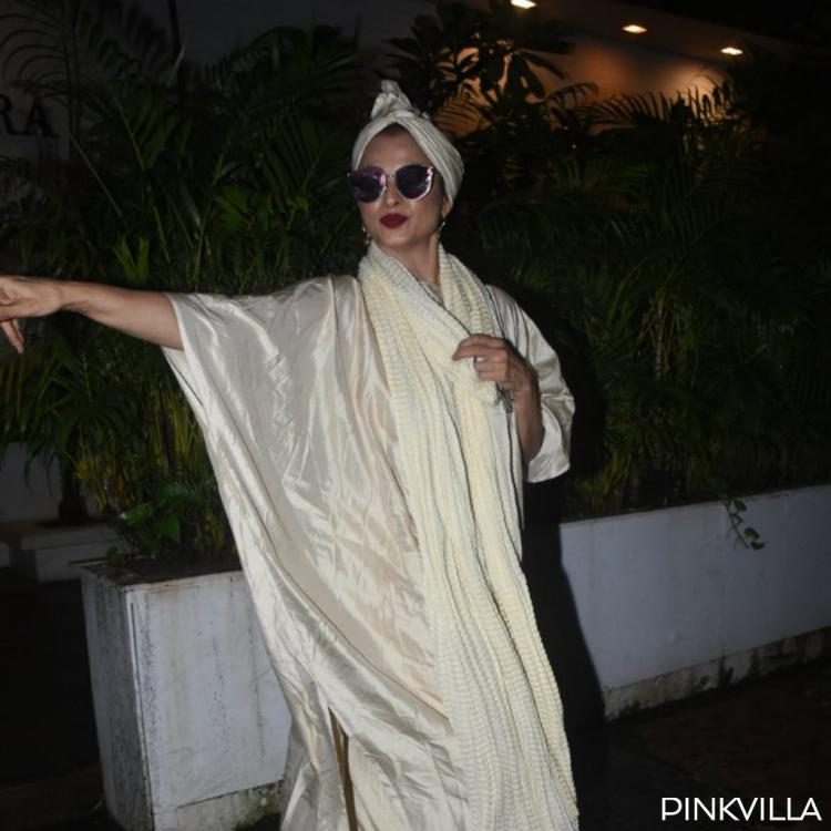 PHOTOS: Rekha continues to charm us with her ever so stunning fashion choices and fans would agree